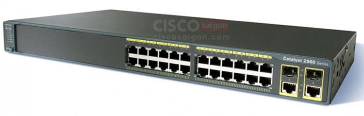 Cisco WS-C2960+24TC-S