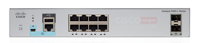 Cisco WS-C2960L-8PS-LL