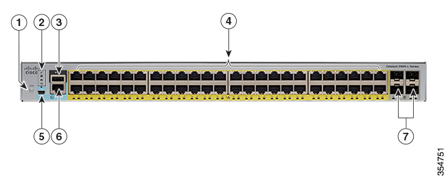 Switch Cisco Catalyst 2960L 48 ports