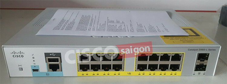 Cisco WS-C2960L-SM-16PS