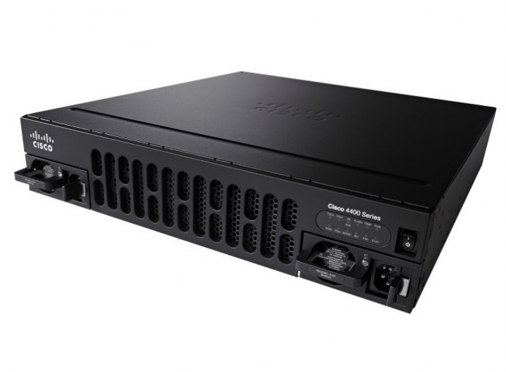 Cisco ISR4451-X/K9 (4GE,3NIM,2SM,8G FLASH,4G DRAM)