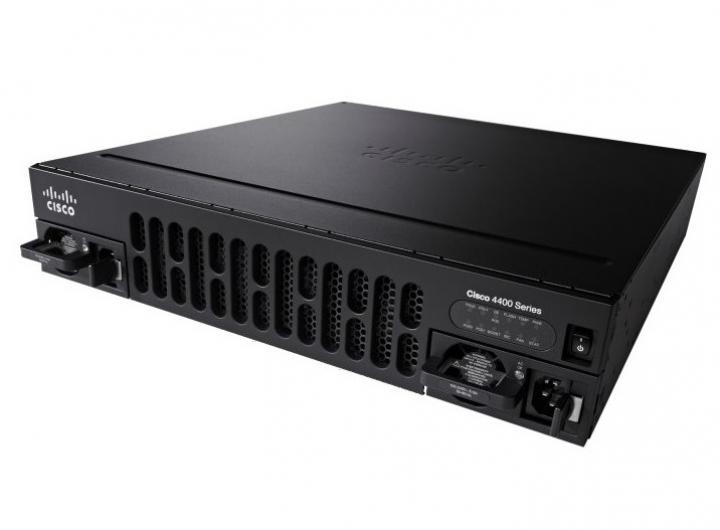 Cisco ISR4431-SEC/K9 Security router (2GE,2NIM,1SM,4G FLASH,4G DRAM,Advanced Security)