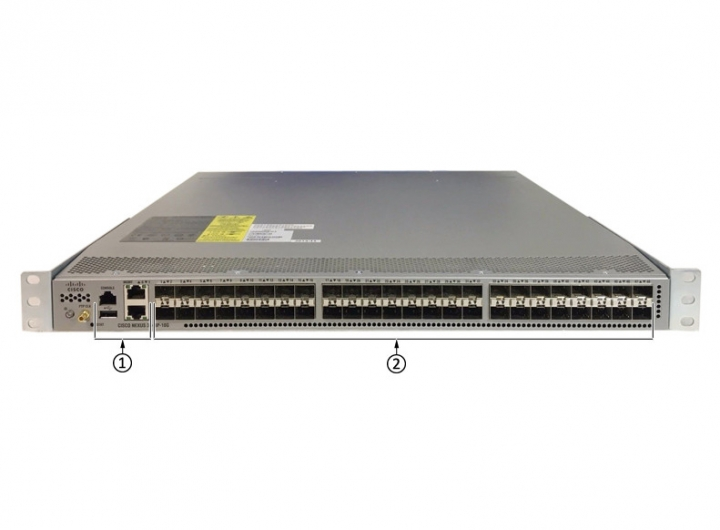 Cisco N3K-C3524P-10GX Nexus 3500 Series Switch Layer 2 and layer 3 - 24 x 10G SFP+ active Ethernet ports