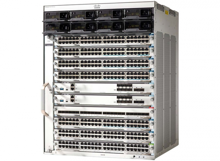 Cisco C9410R Switch Catalyst 9400 Series 10 slot chassis