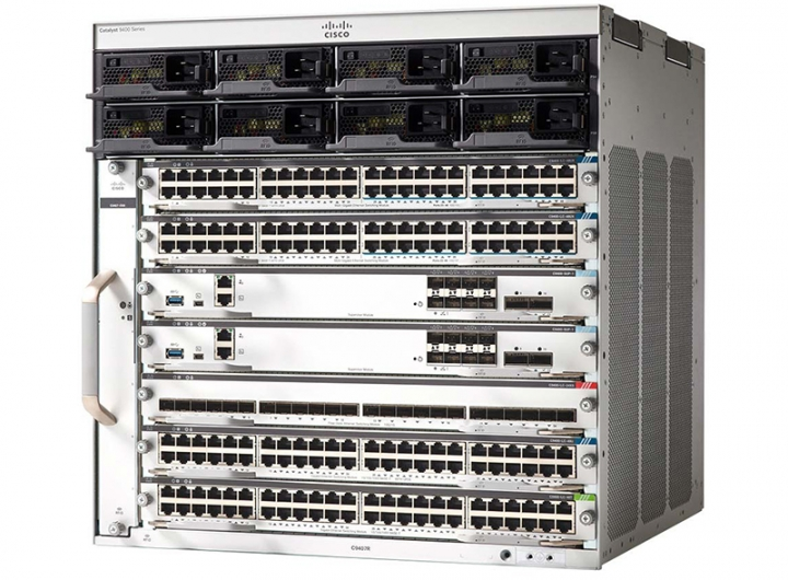Cisco Switch C9407R Catalyst 9400 Series 7 slot chassis