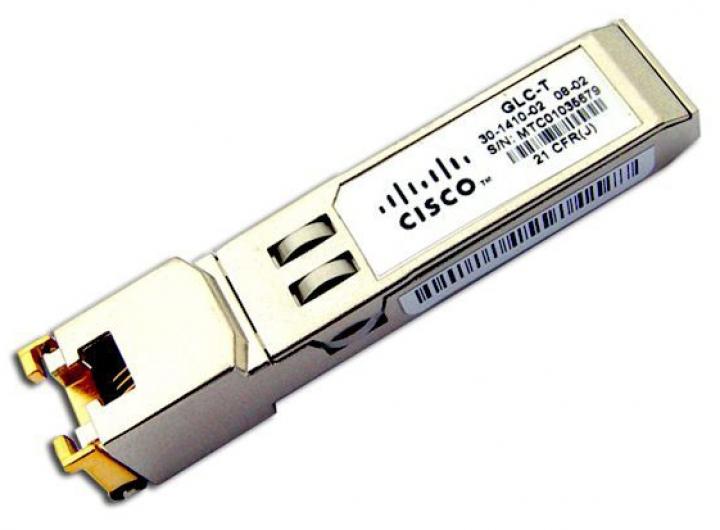 Module SFP Cisco GLC-T cáp đồng RJ45 chính hãng giá rẻ