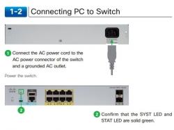 Hướng dẫn kết nối và cài đặt cơ bản PC tới Switch 2960L