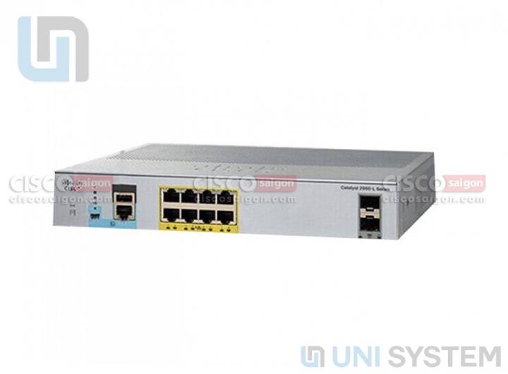 WS-C2960L-SM-8PS chính hãng