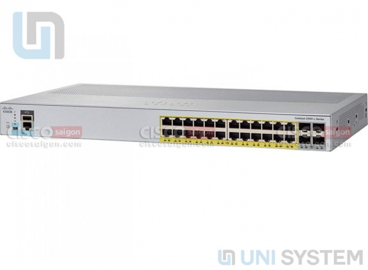 Cisco WS-C2960L-SM-24PQ