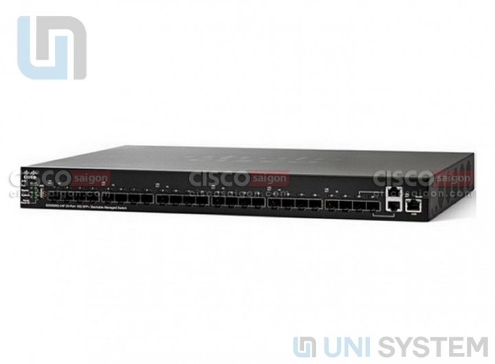 Cisco SG550XG-24F 24-Port 10G SFP+ Stackable Managed Switch