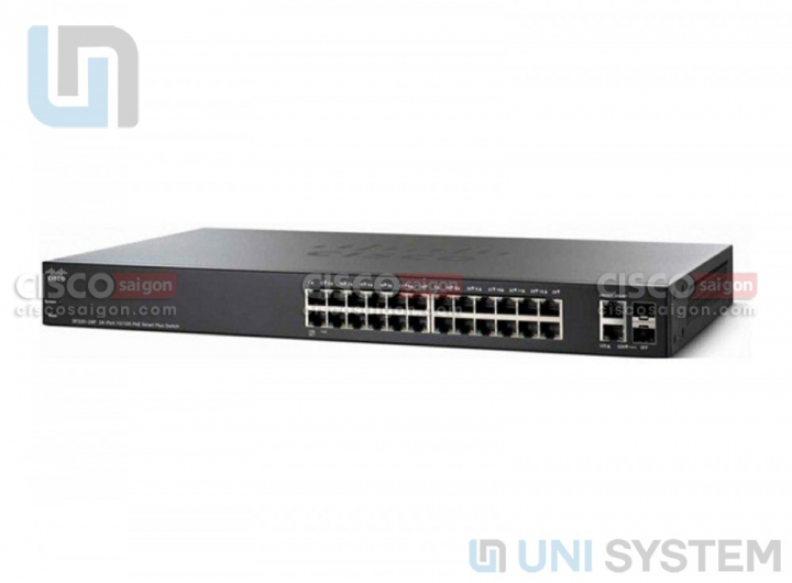 SG250X-24 24-Port Gigabit Smart Switch with 10G Uplinks
