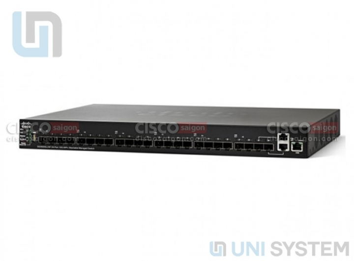 Cisco SG350XG-24F 24-port Ten Gigabit (SFP+) Switch
