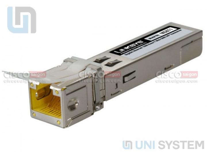 Cisco MGBT1 Gigabit Ethernet 1000 Base-T Mini-GBIC SFP Transceiver