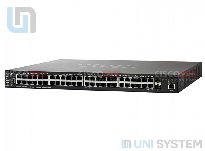 Cisco SG550X-48MP 48-port Gigabit PoE Stackable Switch