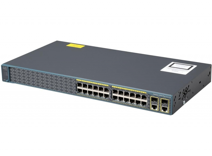 WS-C2960+24PC-S, Cisco WS-C2960+24PC-S, Switch Cisco WS-C2960+24PC-S